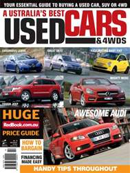 Australia's Best Used Cars and 4WDs issue Australia's Best Used Cars and 4WDs