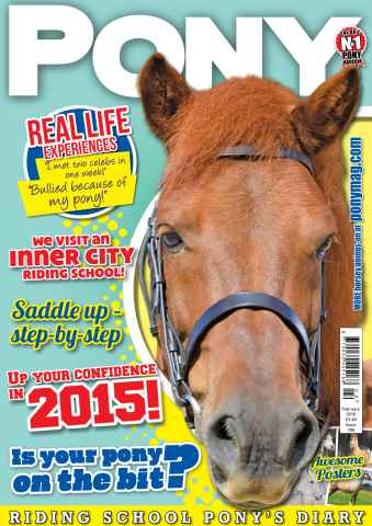 Pony Magazine issue PONY Magazine - February 2015 (Issue 795)