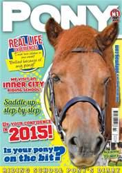 Pony Magazine issue PONY Magazine - February 2015 (Issue 795)