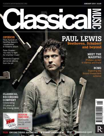 Classical Music issue January 2015