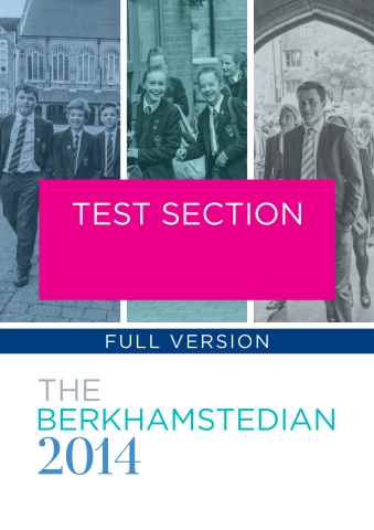 Berkhamsted School issue Geo