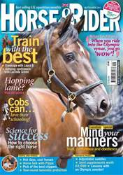 Horse&Rider Magazine - UK equestrian magazine for Horse and Rider issue September 2011