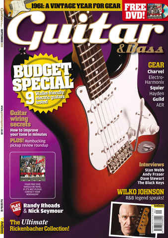 Guitar & Bass Magazine issue September 2011 Budget Special