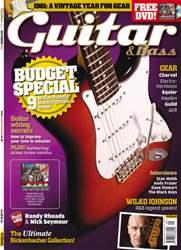 Guitar & Bass Magazine issue September 2011 Budget Special