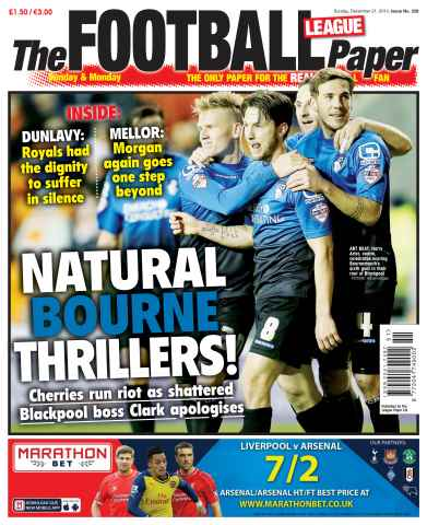 The Football League Paper issue 21st December 2014