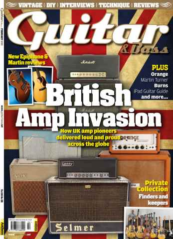 Guitar & Bass Magazine issue February 2015