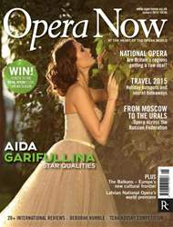 Opera Now issue January 2015