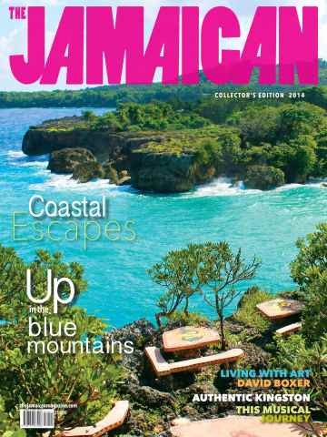 Jamaican Magazine issue The Blue Mountains 2014