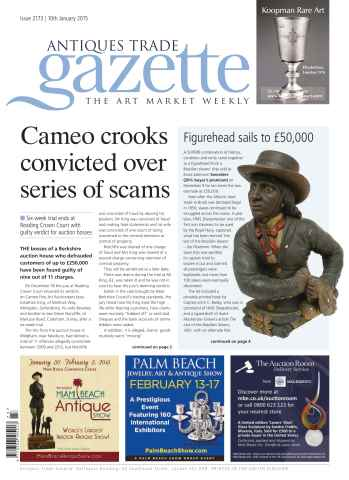 Antiques Trade Gazette issue ATG Issue 2173
