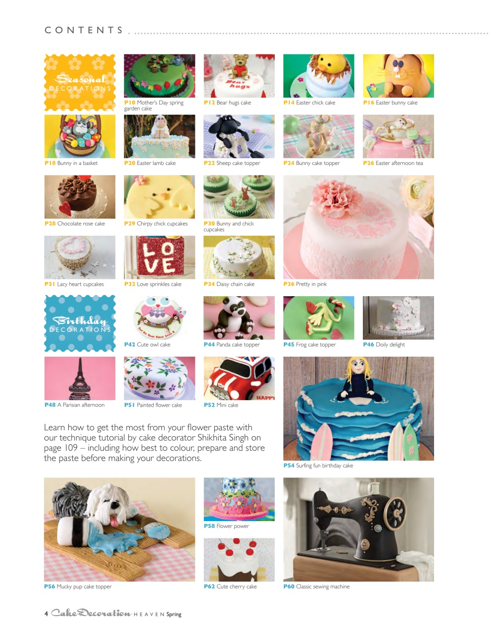 Cake Decorating Heaven Cake Decoration Heaven Spring 2015 ...
