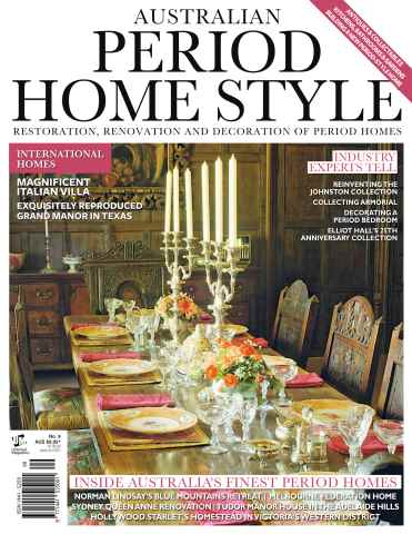 Period Style issue Australian Period Home Style Issue #9