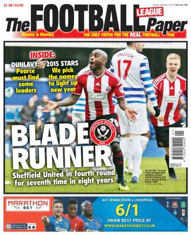 The Football League Paper issue 5th January 2015