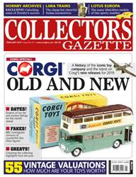 Collectors Gazette issue February 2015