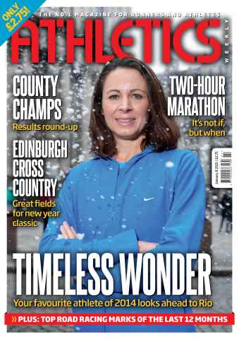 Athletics Weekly issue 08 January 2015