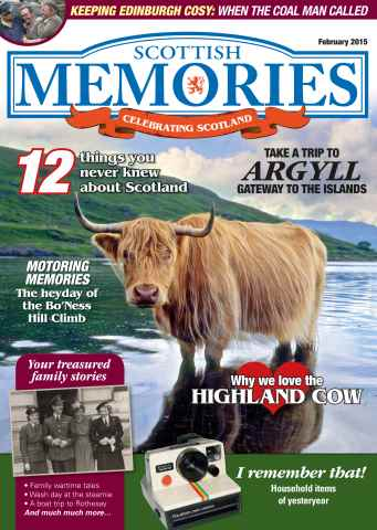 Scottish Memories issue Scottish Memories February 2015