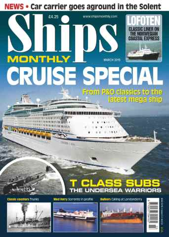 Ships Monthly issue No.603 Cruise Special