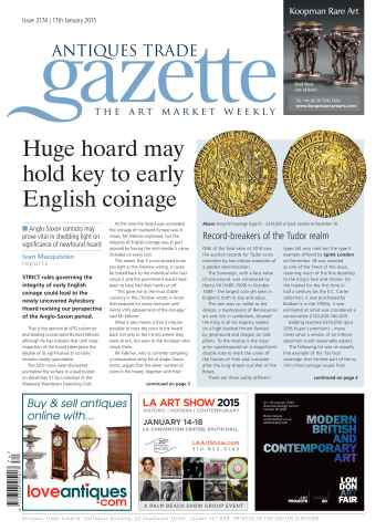 Antiques Trade Gazette issue ATG Issue 2174