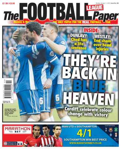 The Football League Paper issue 11th January 2015