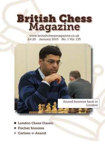 British Chess Magazine issue January 2015
