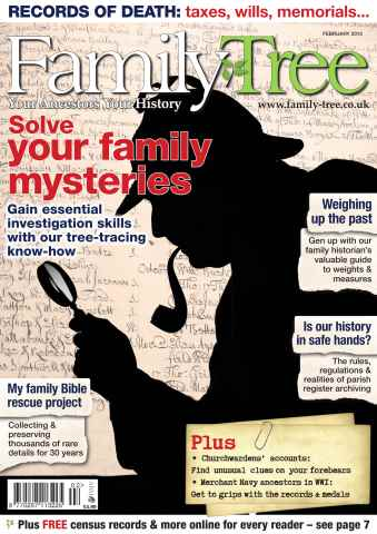 Family Tree issue Family Tree February 2015