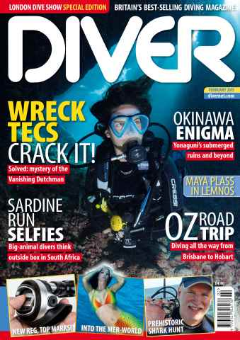 DIVER issue FEBRUARY 2015