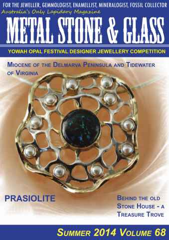 Metal Stone And Glass issue Summer 2014, Volume 68