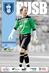 CCFC Official Programmes issue 02 V LEICESTER CITY (11-12)