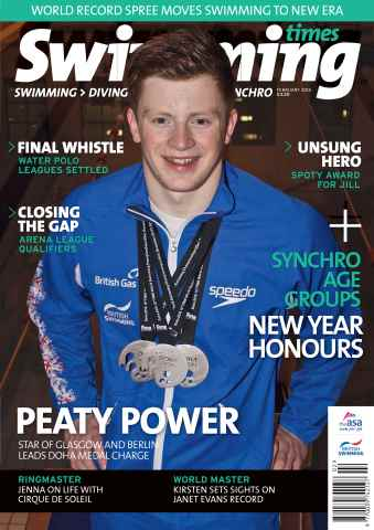 Swimming Times issue February 15