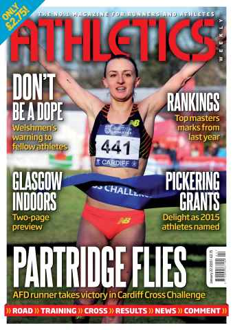 Athletics Weekly issue 22 January 2015