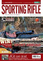 Sporting Rifle issue March 2015