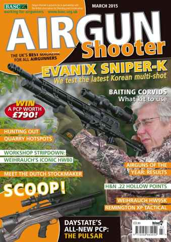 Airgun Shooter issue March 2015