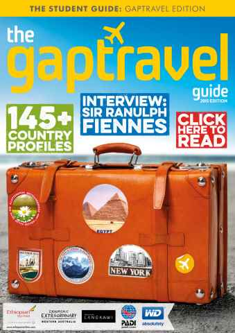 The Gap Travel Guide issue The Gaptravel Guide 2015