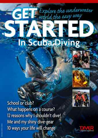 DIVER issue Get Started in Scuba Diving