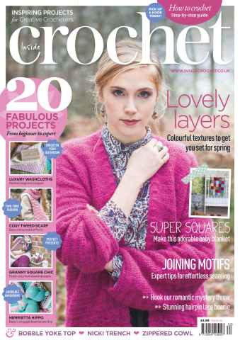 Inside Crochet issue 62