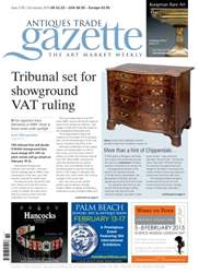 Antiques Trade Gazette issue ATG Issue 2176