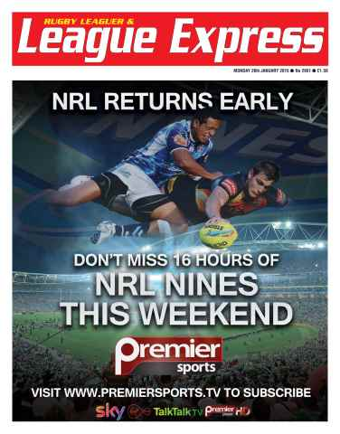 League Express issue 2951