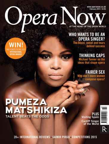 Opera Now issue February 2015
