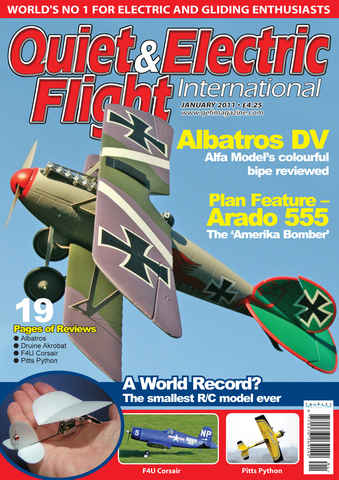Quiet & Electric Flight Inter issue January 2011
