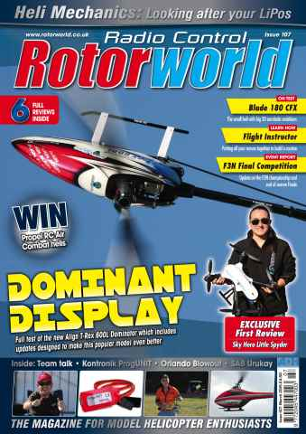 Radio Control Rotor World issue Mar 107