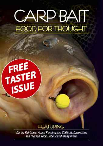 Total Carp issue Carp Bait – Food for Thought FREE TASTER
