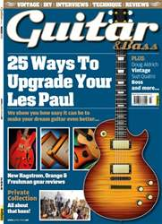 Guitar & Bass Magazine issue March 2015
