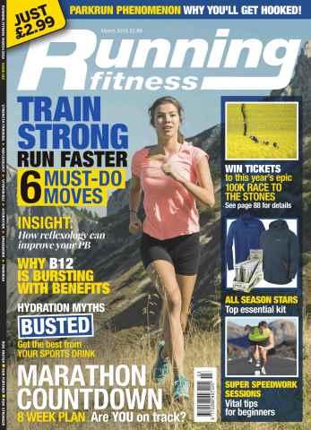 Running Fitness issue No.174 Marathon Countdown