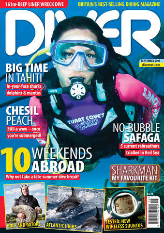 DIVER issue September 2011