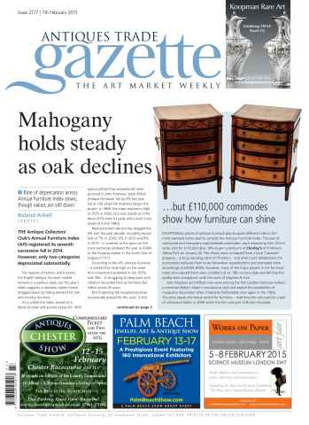 Antiques Trade Gazette issue ATG Issue 2177