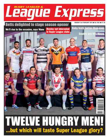 League Express issue 2952