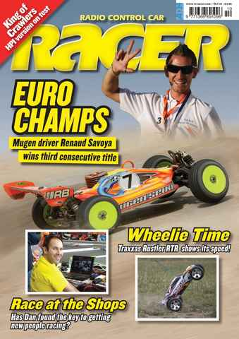 Radio Control Car Racer issue Oct 2010