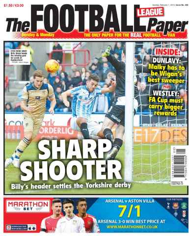 The Football League Paper issue 1st February 2015