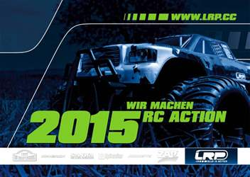 Radio Control Car Racer issue LRP Catalogue 2015