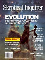 Skeptical Inquirer issue March April 2015