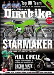 Classic Dirt Bike issue Issue #34